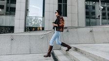 These Cole Haan Leather Riding Boots Are 55 Percent Off Today