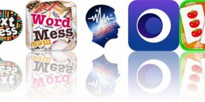 Today's Apps Gone Free: Text Mess, Word Mess, BrainWave Tuner and More