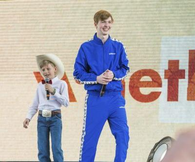 The yodeling Walmart kid took his talents to Coachella