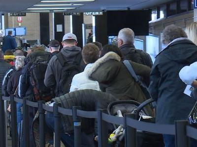 Airports nationwide experience high volume of TSA call outs