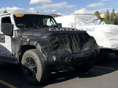 2018 Jeep Wrangler Shows Its Familiar Shape In Reader Spy Photos