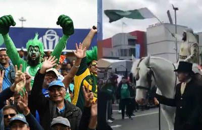 WATCH: Pakistan cricket fan arrives ON HORSE to see team face India in World Cup