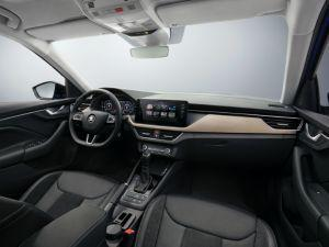 Skoda Scala Interior Unveiled Shows Understated But Likeable Design