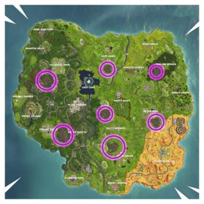 Fortnite Week 2 Challenge: Visit Corrupted Areas