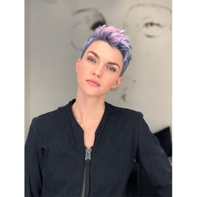 """Ruby Rose's """"Rubicorn"""" Hair Color Is Everything"""