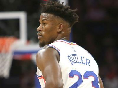 NBA wrap: Jimmy Butler's buzzer beater pushes 76ers past Nets; Lakers winning-streak snapped by Magic