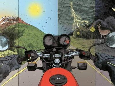 Riding 1000 Miles On A BMW R100