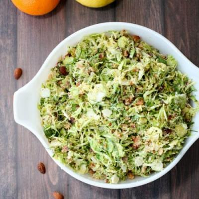 Bacon Brussel Sprout Salad