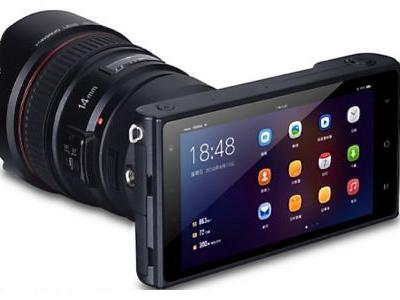 A full-featured Android-powered mirrorless camera is coming