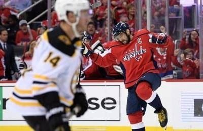 Caps raise Cup banner and show Bruins who's boss