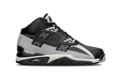 The Nike Air Trainer SC High Gets a Timeless Black/Metallic Silver Colorway