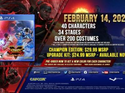 Street Fighter V: Champion Edition Bundle Adds Street Fighter III's Gill in 2020, Available Separately Next Month