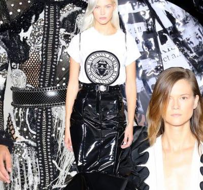 Olivier Rousteing's Latest Balmain Show Is A Letter To His 10-Year-Old Self