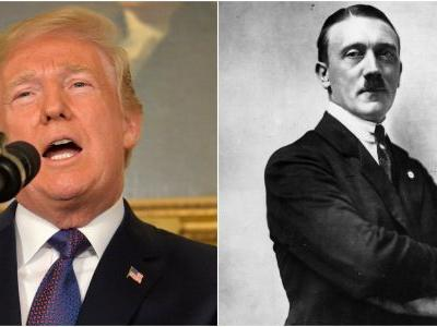 A high-ranking Russian politician is comparing Donald Trump to Adolf Hitler