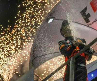 Race Report: Hamilton aided by 'miracle' to win Singapore GP