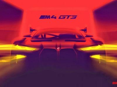 2022 BMW M4 GT3 Teaser Confirms Giant Grille For Production M4