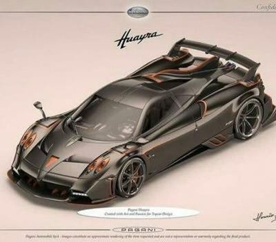 Pagani Huayra Dragon for TopCar Design Is Extreme