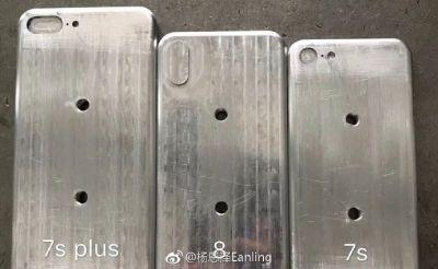 Alleged Molds Purport to Show Relative Sizes of Apple's 2017 iPhones