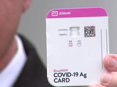 150 Million Rapid COVID-19 Tests to be Distributed to All U.S. States