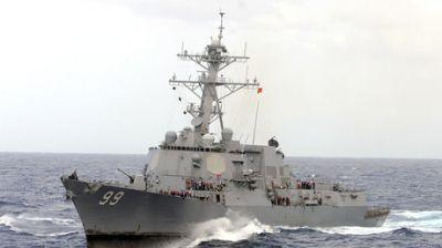 US Navy ship fired warning shots at Iranian vessels in Strait of Hormuz - report