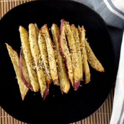 Korean Sweet Potato Air Fryer Fries