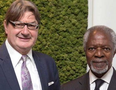 Kofi Annan joins Geox Ethics Committee