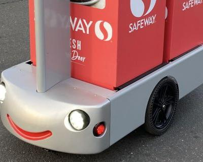 Albertsons taps Tortoise for remote-controlled grocery delivery robots