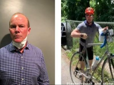 Cyclist Suspect Seen Assaulting Teen Girls Hanging George Floyd Posters in Viral Video Has Been Fired