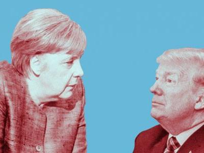 11 photos show how close Merkel was with Obama, and how different things are with Trump