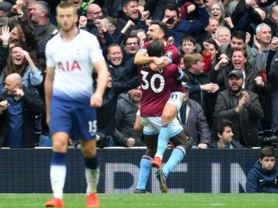 Tottenham suffer first loss at new stadium against West Ham