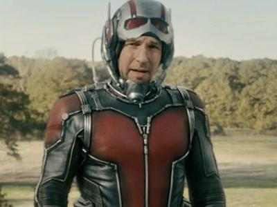 Clearer Look At Ant-Man's New Suit in Sequel Set Photo