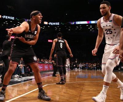 Ben Simmons teaches talkative Nets a lesson in Playoffs 101