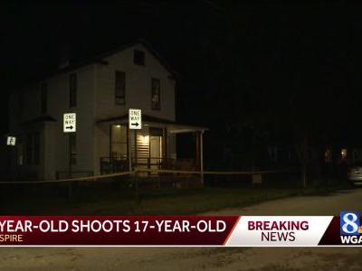 14-year-old detained after allegedly shooting 17-year-old