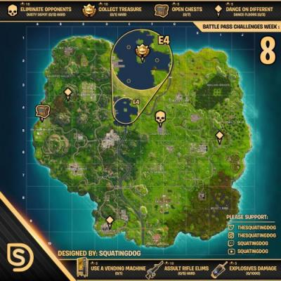 Fortnite: all dance floor locations and where to dance on 3 different dance floors