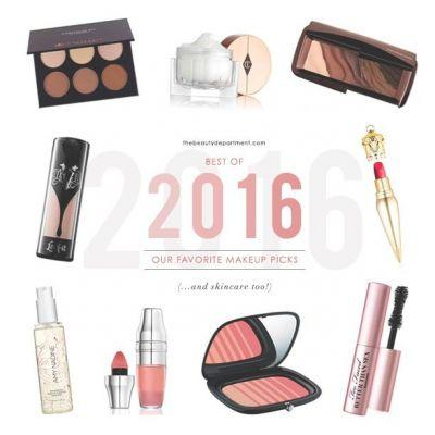 BEST OF 2016 MAKEUP & SKINCARE