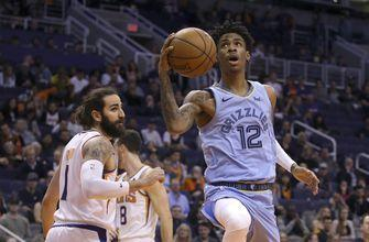 Brooks, Jackson lead Grizzlies over Suns 115-108