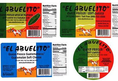 Listeria Outbreak Linked to Queso Fresco Made by El Abuelito Cheese Inc