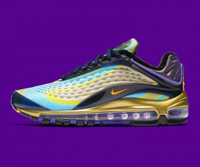 Nike Air Max Deluxe OG Midnight Navy/Laser Orange Set to Launch Soon