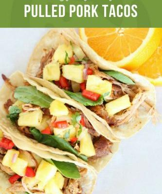 Pineapple Pulled Pork Instant Pot Tacos