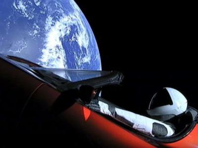 Starman and Tesla Roadster Have Shot Past Mars, SpaceX Says