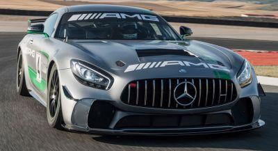 New Mercedes-AMG GT4 Race Car Reporting For Duty At Spa-Francorchamps