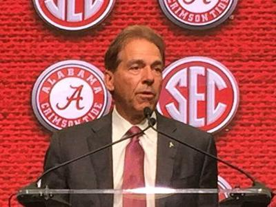 Nick Saban 'determined' to keep Alabama grounded again in 2018