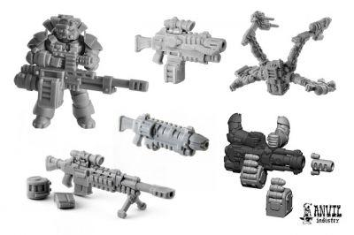 Review: Anvil Industry Exo Lord Bits and Weapons