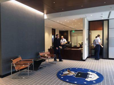 The US Air Force spent $387,000 to make the lobby outside a 3-star general's office look nice