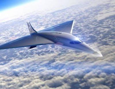 Virgin Galactic reveals its Mach 3 jet that'll fly faster than Concorde
