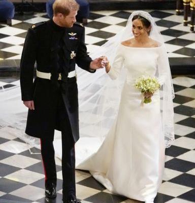 Princess Eugenie's Wedding Dress vs. Meghan Markle's: The Details Make All The Difference