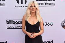 Bebe Rexha's Red Carpet Look Is So 90s Sexy | Billboard Music Awards 2017