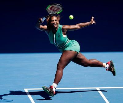 Hobbled Serena Williams blows four match points, falls in Aussie quarters
