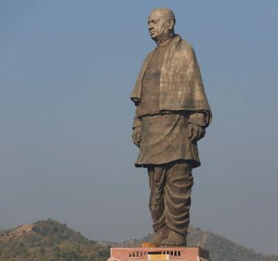 The tallest statue in the world has been unveiled in India, and it's more than twice the height of the Statue of Liberty