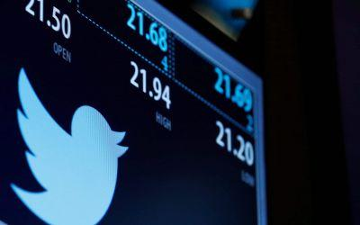 Twitter revenue drops further as user growth stalls